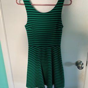 Green/Navy American Eagles Dress